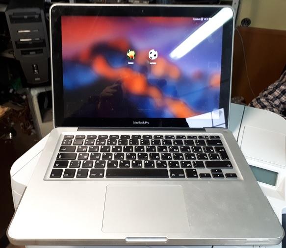 ремонт Macbook Pro не загружается