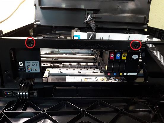 Ремонт и разборка HP OJ 6700