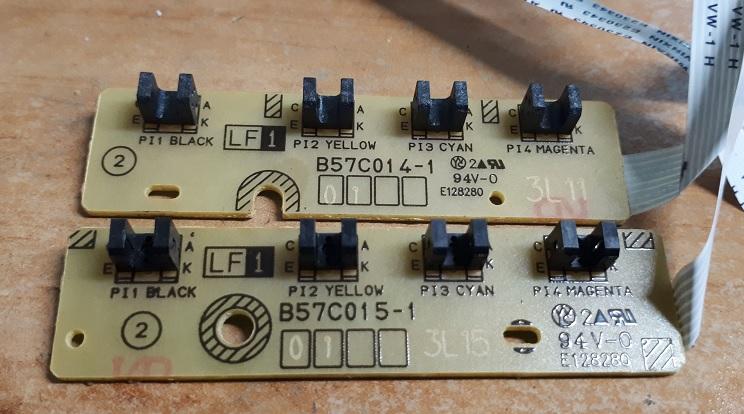 Плата датчиков Brother B57C014-1 и B57C015-1