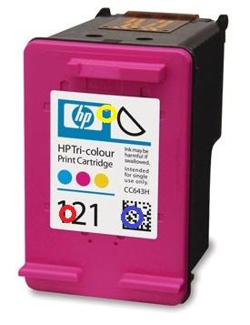 Заправка HP 121 цветного