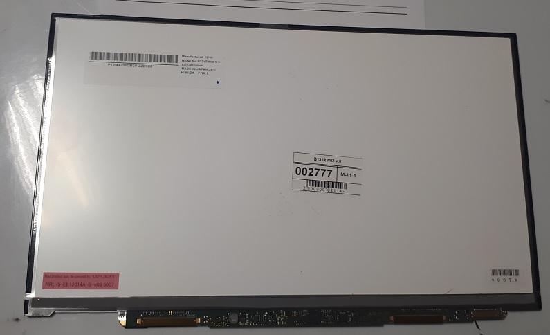 Экран для ноутбука B131RW02 v.0
