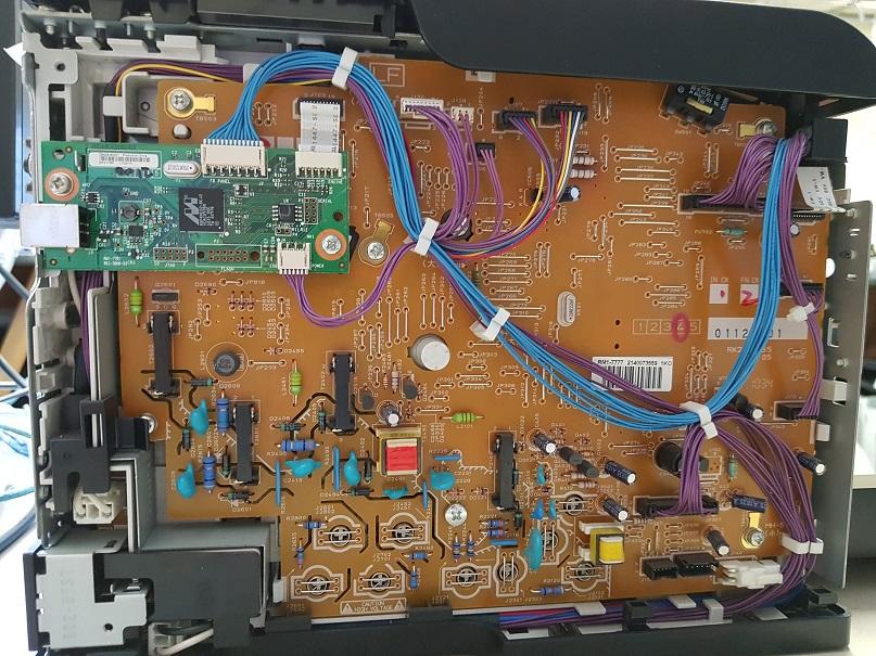 HP Laserjet CP1025 Color не печатает с компьютера