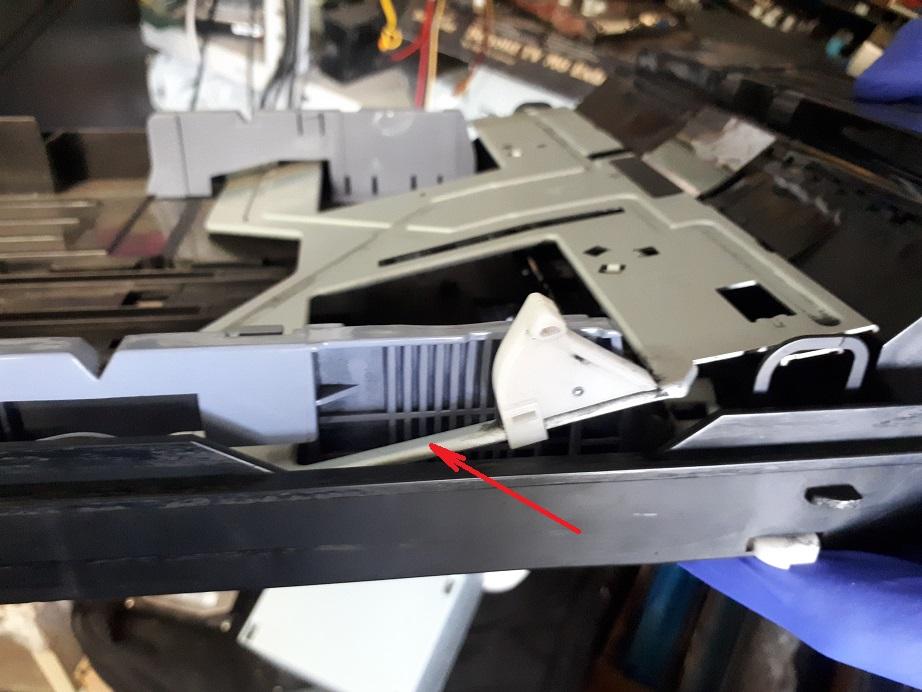 samsung scx-4300 застрял лоток