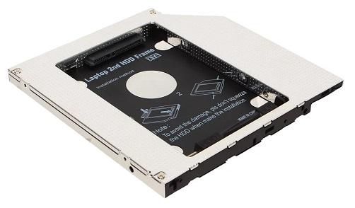 Переходник для SSD SATA в DVD слот