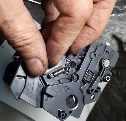 разборка и ремонт барабана HP CF234a
