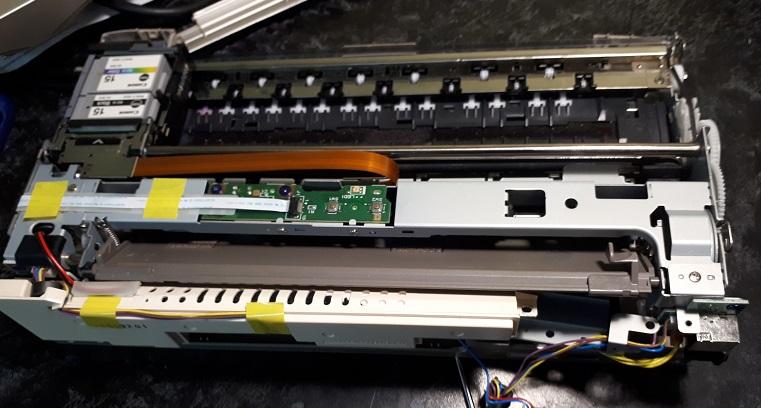 ремонт портативных принтеров Canon i70, i80, i90