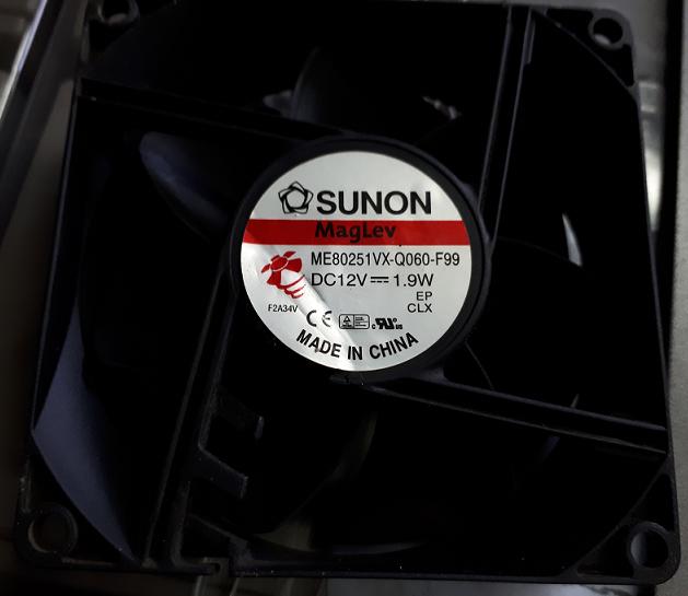 Вентилятор для UPS Sunon ME80251VX-Q060-F99 ВС12V 1.9W