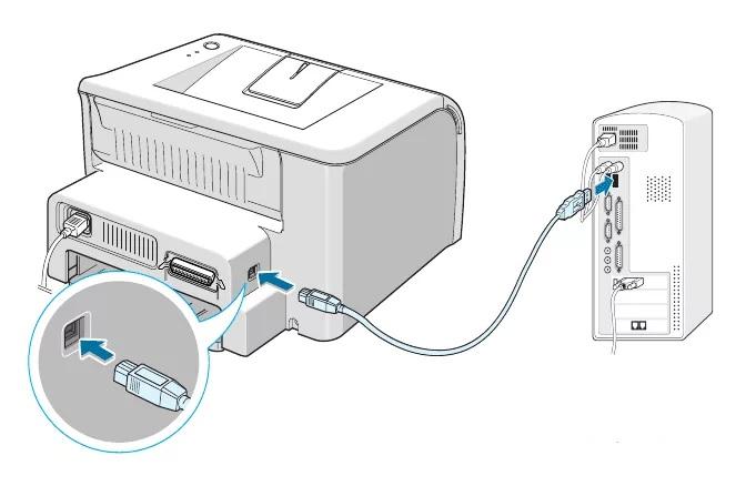 принтер не печатает с компьютера