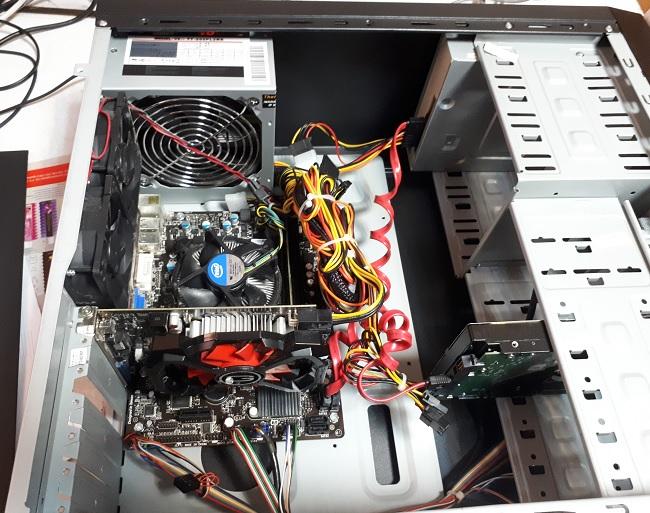 компьютер на i3 внутри