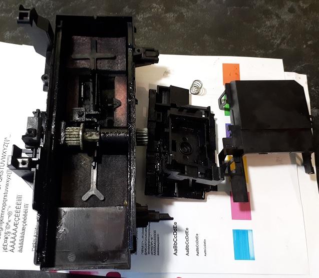 HP OJ 7612 ошибка 0x61011beb