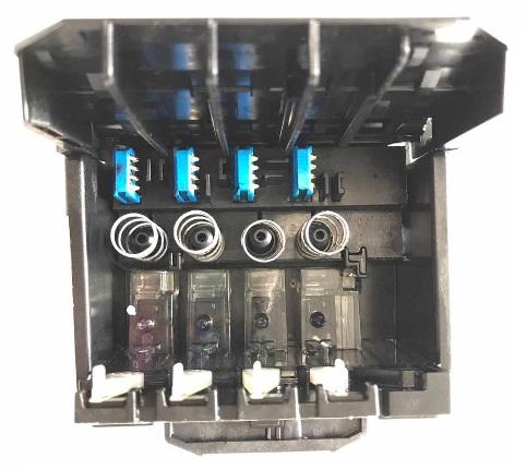 устройство 4-цветной гололвки HP с демпферными камерами