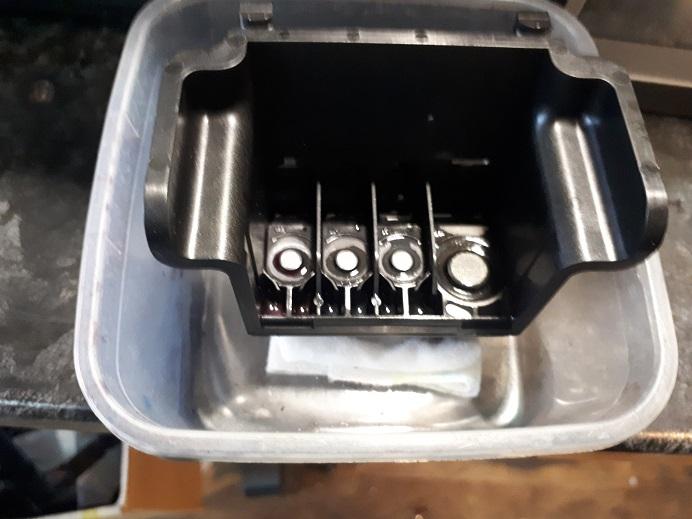 Чистка головки HP Canon