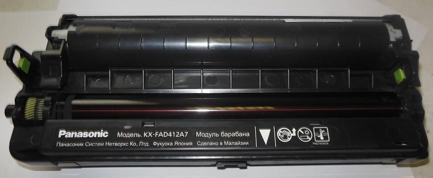 ремонт блока барабана Panasonic бледная печать