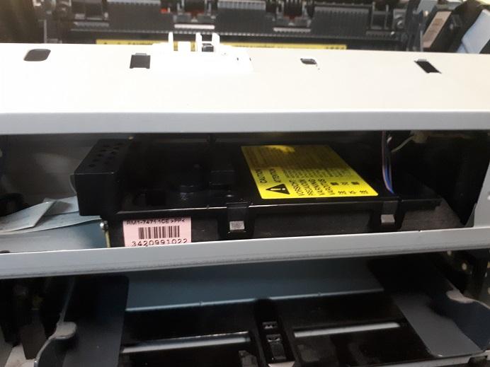 замена блока лазера hP M1132 - все время мигают индикаторы