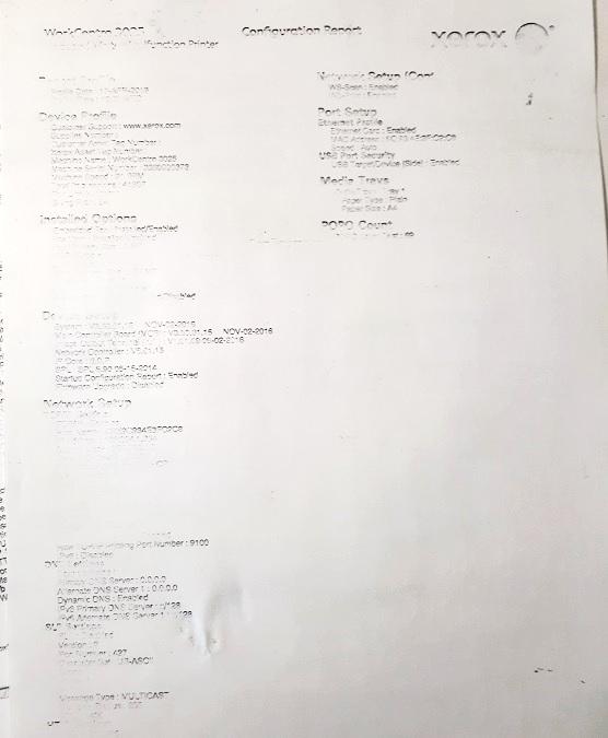 Плохая бледная печать Panasoniс KX-MB2000 KX-MB1900