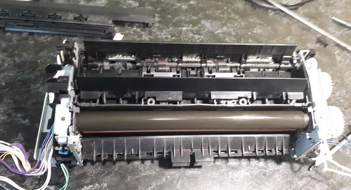 разборка печки HP LJ M477