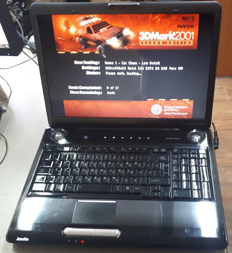 Ноутбук Toshiba P300 БУ