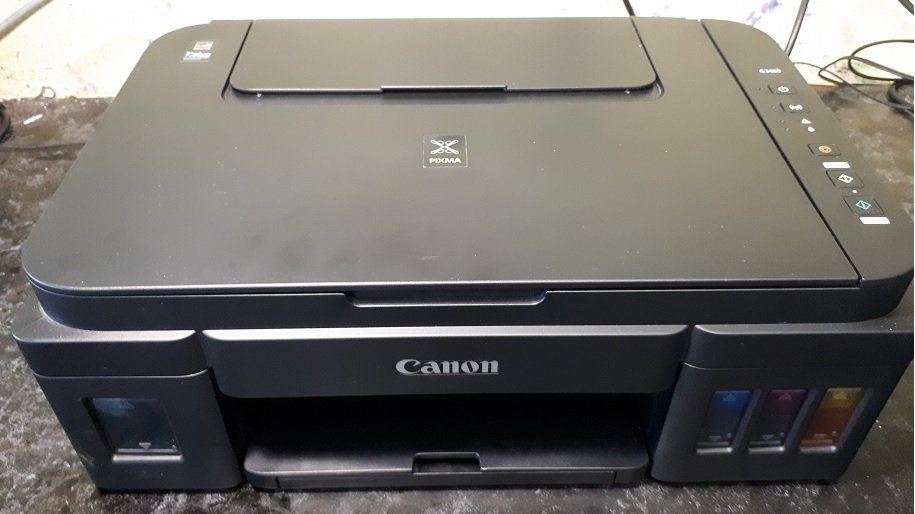 Canon G3400 сброс памперса