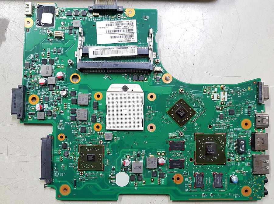 Ремонт материнской платы Toshiba L650d-120