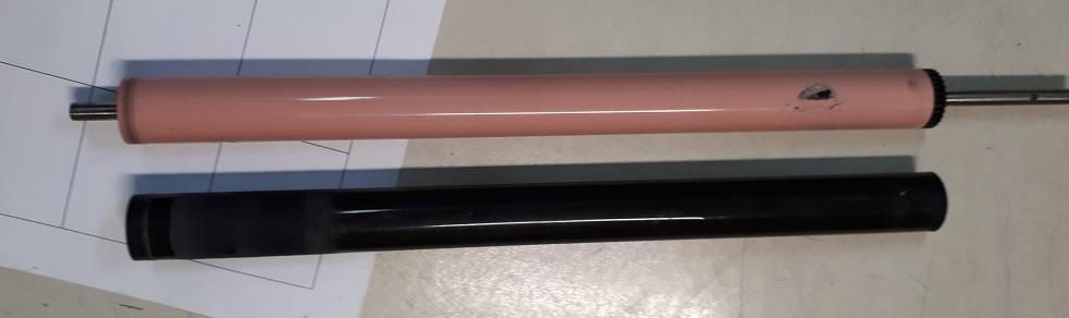Ремонт печки замена резинового вала HP LJ Color M477