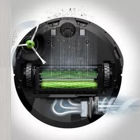 схема сбора мусора Roomba e5