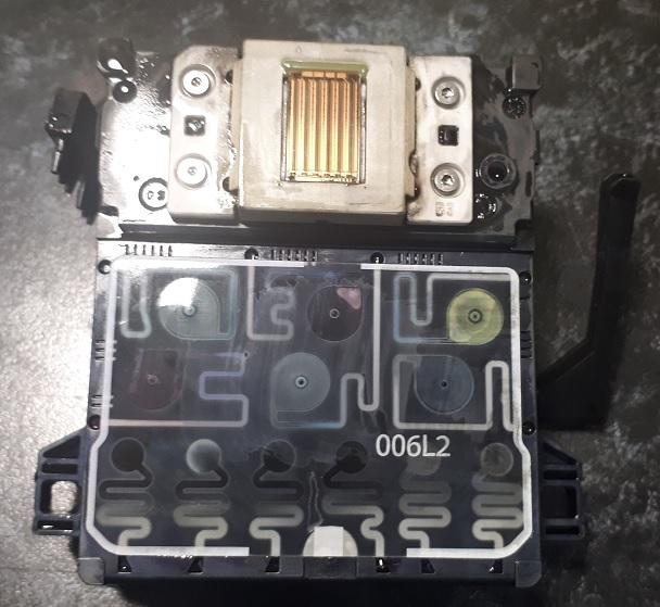 промывка головки HP с демпферными камерами