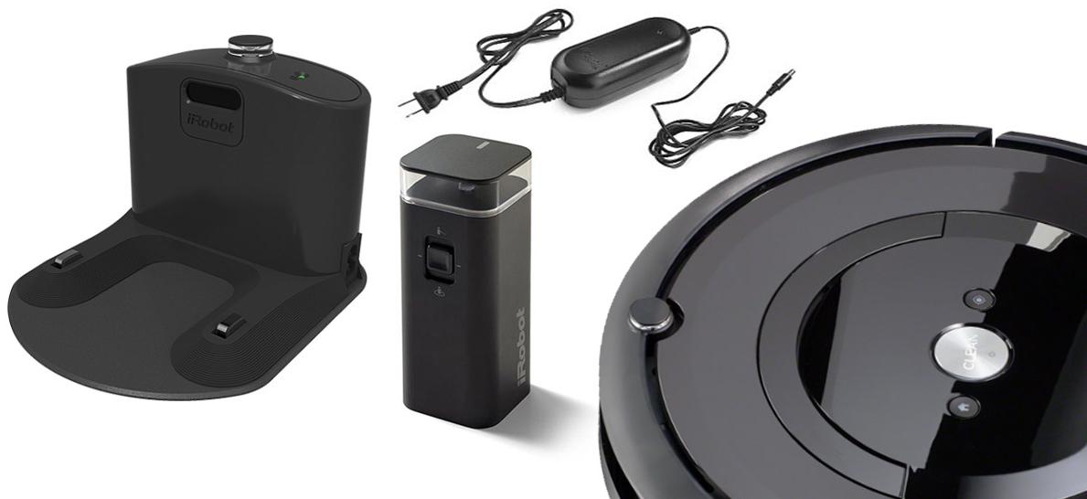 Roomba e5 комплектация
