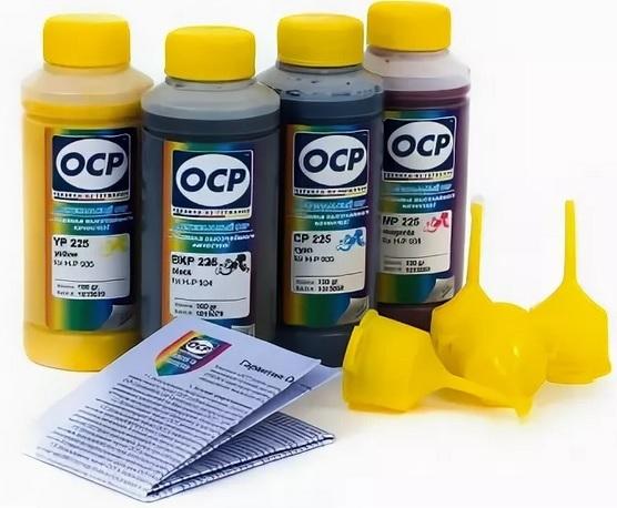 Заправка принтеров чернилами OCP
