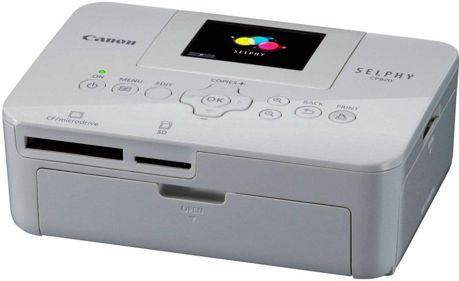 ремонт сублимацилнных принтеров selphy