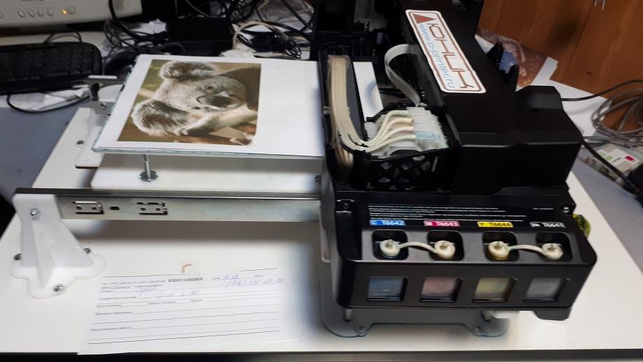 ремонт планшетных принтеров Epson