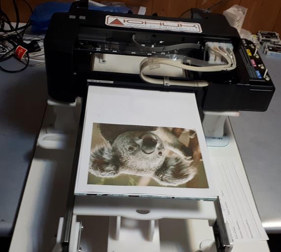 планшетный принтер Epson для печати на тортах