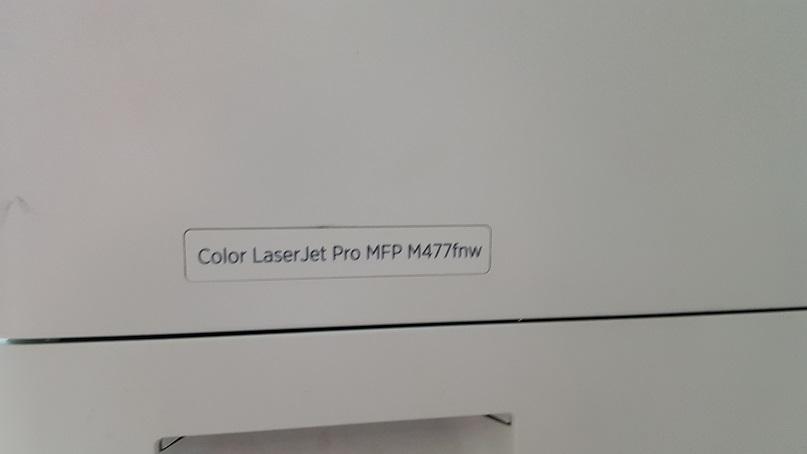 ремонт HP Color LaserJet Pro M477 - ошибка термоэлемента 50.2