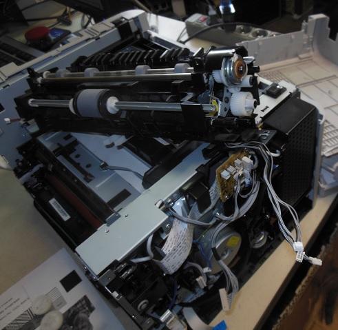 Восстановление подачи бумаги SamsungCLP-365W