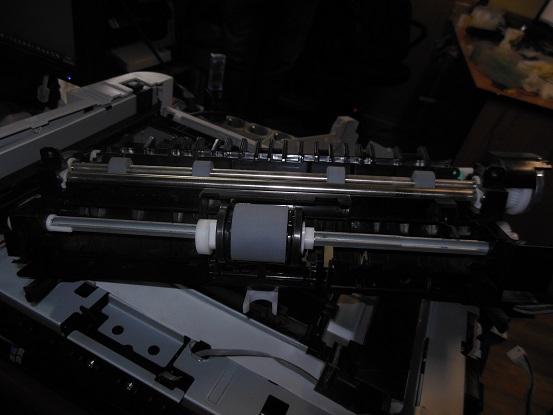 Ремонт узла подачи бумаги SamsungCLP-365W