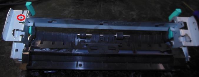 разборка печки HP LJ M2727