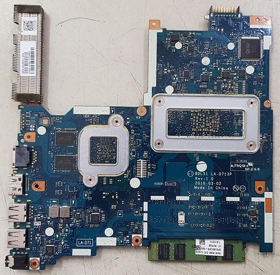 ремонт материнской платы ноутбука HP 15-ba028ur