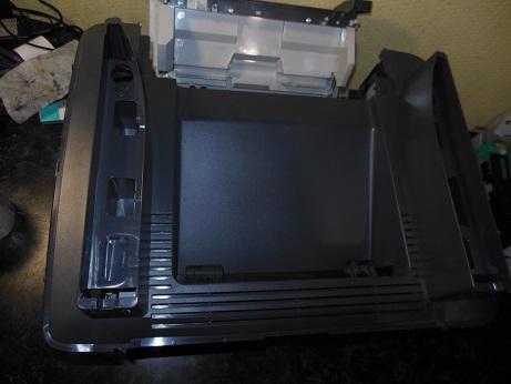 снятие сканера HP LJ M2727