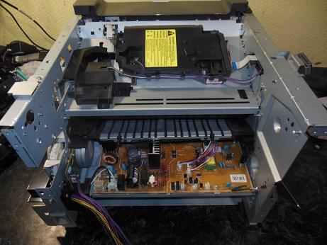 снятие печки HP LJ M2727