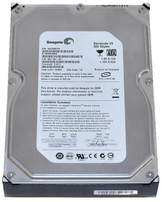 ремонт жестких дисков Seagate, восстановление данных