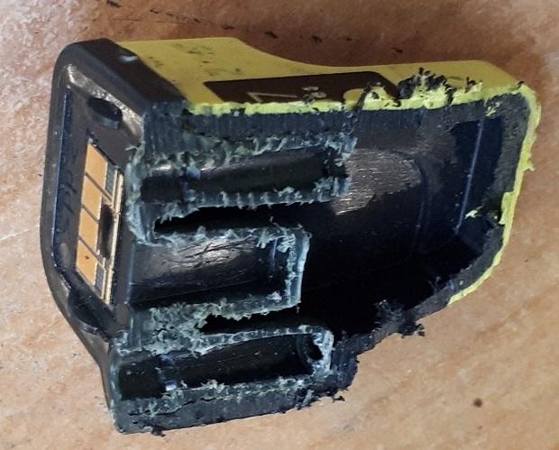 Устройство картриджа HP 177 - заправка