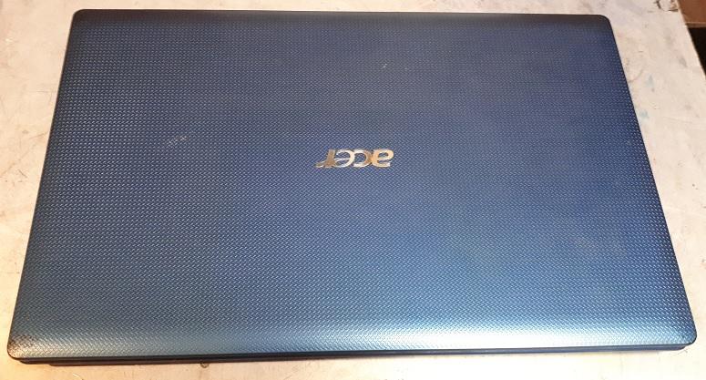 Ноутбук офисный БУ Acer 5750G Core i5-2450 БУ сверху