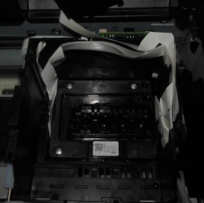 отвинчиваем головку Epson WF-7610