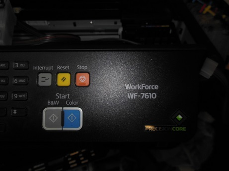 ремонт Epson WF-7610