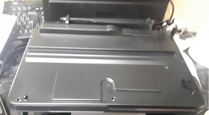 разборка сканера HP 5525