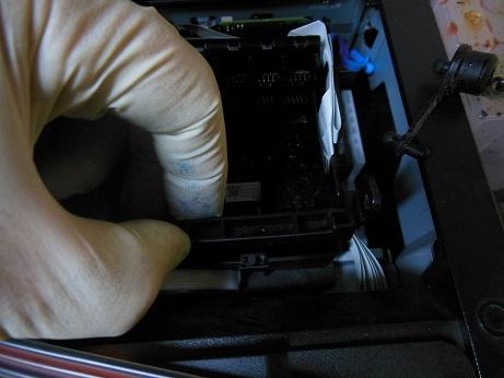 снимаем 2 крышку Epson WF-7610