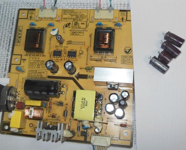 Samsung 226BW ремонт блока питания
