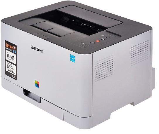 Цветной лазерный принтер Samsung clp-365 БУ