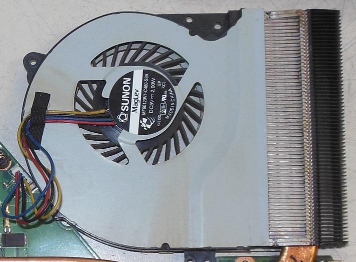 вентилятор asus x550cc