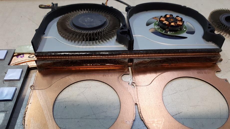 Ремонт и чистка охлаждения ноутбука Acer Predator Helios 300