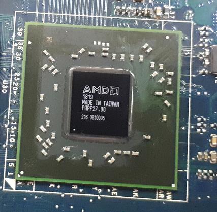 Замена AMD Radeon HD 6750, чип 216-0810005